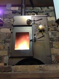 鉄工業の仲間の人が作った、デザインも重視した製品1号機(試作2号機)