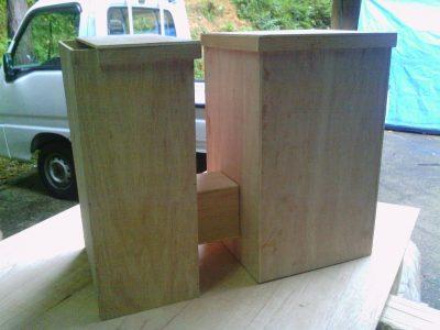 今度は、私自身の試作1号機:実物大の木製の模型