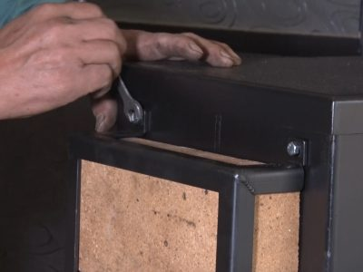 耐熱レンガの取り付け方4